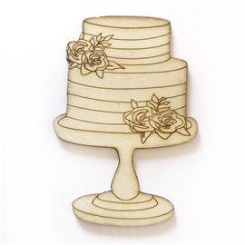 SILUETA 10cm SWEET BAKERY- PASTEL FLORES