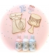 Kit maderas Sweet Bakery + Pinturas