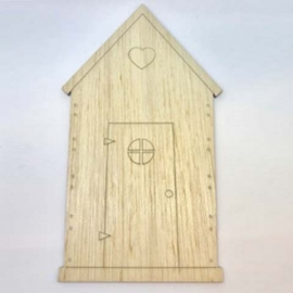 Casa corazón 6cm