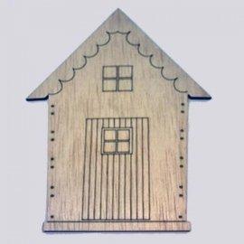 Casa techo festoneado 6cm
