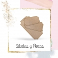 Siluetas y Placas de Madera