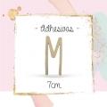 Letras 7CM Adhesivas