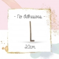 Letras 20CM No Adhesivas