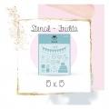 Stencil Fridita 15*15